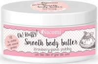 Nacomi - Smooth Body Butter - Light strawberry butter pudding with guava