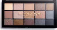 Makeup Revolution - RE-LOADED Shadow Palette - set of 15 eyeshadows - SMOKY NEUTRALS