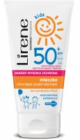 Lirene - Kids - Waterproof sun protection milk for CHILDREN - SPF50 - 150ml