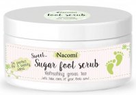 Nacomi - Foot scrub - Natural foot scrub - 125g