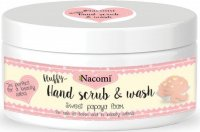Nacomi - Hand Scrub & Wash - Hand peeling and washing foam - Papaya