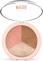 Golden Rose - NUDE LOOK - Baked Trio Face Powder - Set of 3 baked face contouring powders