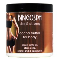 BINGOSPA - Slim & Strong - Cocoa Butter for Body - Cocoa butter for body - 250g