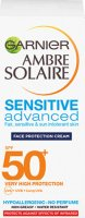GARNIER - AMBRE SOLAIRE - SENSITIVE Advanced Face Protection Cream - Waterproof Face Protection Cream - SPF50