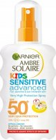 GARNIER - AMBRE SOLAIRE SENSITIVE Advanced Spray - High Protection Spray for Children - SPF50
