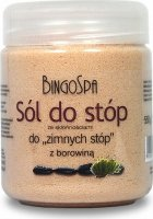BINGOSPA - Peat foot salt for with a tendency to''cold feet'' - 550g