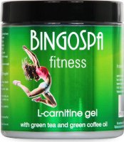 BINGOSPA - Fitness - L-carnitine gel with green tea and green coffee oil - 250g