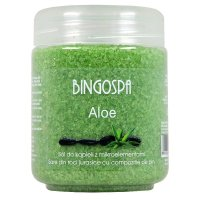 BINGOSPA - Aloe Salt - Bath salt with microelements and aloe - 550g