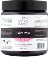 Your Natural Side - 100% Natural Pink Clay - 100 g