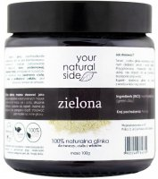Your Natural Side - 100% natural green clay - 100g
