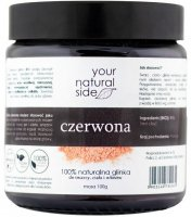 Your Natural Side - 100% Natural Red Clay - 100 g