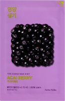 Holika Holika - Pure Essence Mask Sheet Acai Berry - Face mask with Acai fruit extract