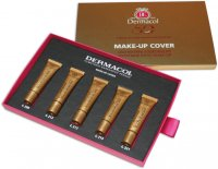 Dermacol - MAKE-UP COVER SET - Set of 5 mini high-coverage foundation - 5x5 ml