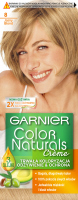 GARNIER - COLOR NATURALS Creme - Permanent, nourishing hair coloring - 8 Light Blonde