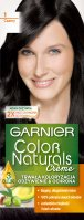 GARNIER - COLOR NATURALS Creme - Permanent, nourishing hair coloring - 1 Black