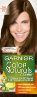 GARNIER - COLOR NATURALS Creme - Permanent, nourishing hair coloring - 4.3 Golden Brown