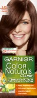 GARNIER - COLOR NATURALS Creme - Permanent, nourishing hair coloring - 5.15 Dark Chocolate