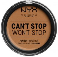 NYX Professional Makeup - CAN'T STOP WON'T STOP POWDER FOUNDATION - Powdered face foundation - 15.9 - WARM HONEY