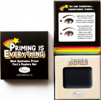 THE BALM - PRIMING IS EVERYTHING - Black Eyeshadow Primer - Eye shadow base - Black