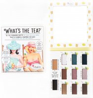 THE BALM - WHAT'S THE TEA? - Eyeshadow palette - 9 eye shadows - ICE TEA