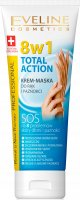 EVELINE - Hand & Nail Therapy Professional - TOTAL ACTION - 8-in-1 hand and nail cream mask - 75 ml