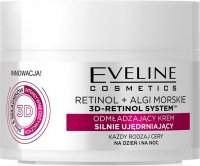 EVELINE - 3D RETINOL SYSTEM - Rejuvenating strongly firming cream - Day / Night - 50 ml