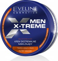 EVELINE - MEN X-TREME - Strongly moisturizing face, body and hand cream for men - 200 ml