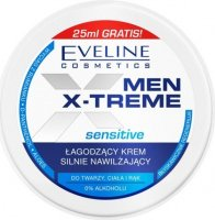 EVELINE - MEN X-TREME Sensitive - Soothing and moisturizing face, body and hand cream - 100 ml