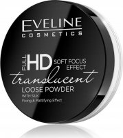 EVELINE - FULL HD LOOSE POWDER - TRANSLUCENT - Face powder with silk - Transparent