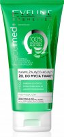 Eveline Cosmetics - FaceMed + Moisturizing and soothing face wash gel with aloe