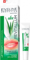 EVELINE - LIP PROFESSIONAL REVITALLUM ALOE LIP SERUM - Deeply moisturizing lip serum with aloe - 8 ml
