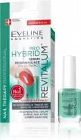 EVELINE - NAIL THERAPY PROFESSIONAL - PRO HYBRID REVITALUM - Regenerating serum for nails during and after hybrids - 12 ml