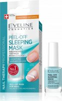 EVELINE - NAIL THERAPY PROFESSIONAL - PEEL OFF SLEEPING MASK - Rebuilding and nourishing Peel Off nail mask
