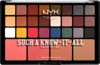 NYX Professional Makeup - DRY A KNOW-IT-ALL PALETTE VOL.1 - Face makeup palette