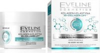 Eveline Cosmetics - 3D Collagen Lift - Semi-greasy face cream with anti-wrinkle effect - Mature skin - 50 ml