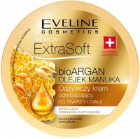 EVELINE - ExtraSoft BioArgan Cream - Nourishing, rejuvenating face and body cream