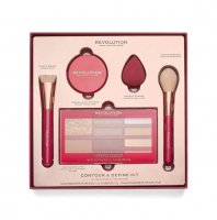 MAKEUP REVOLUTION - CONTOUR & DEFINE KIT - Face contouring kit