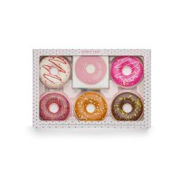 I Heart Revolution - DONUT TRAY - Set of face makeup cosmetics