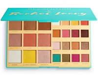 MAKEUP REVOLUTION x Rachel Leary - ULTIMATE GODDESS FACE AND SHADOW PALETTE - Face makeup palette