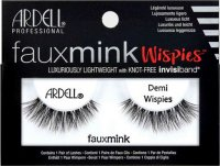 ARDELL - FAUX MINK - Luxuriously Lightweight with invisiband - Artificial strip eyelashes - DEMI WISPIES - DEMI WISPIES