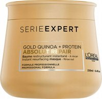 L'Oréal Professionnel - SERIES EXPERT - ABSOLUT REPAIR - GOLD QUINOA + PROTEIN - Rebuilding mask for damaged hair - 250 ml