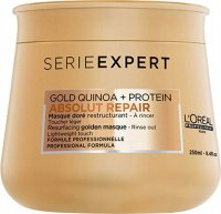 L'Oréal Professionnel - SERIES EXPERT - ABSOLUT REPAIR - GOLD QUINOA + PROTEIN - Golden mask for damaged hair - 250 ml