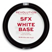 MAKEUP REVOLUTION - SFX WHITE BASE - FACE PAINT - Creamy face paint