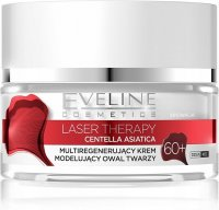EVELINE - LASER THERAPY - CENTELLA ASIATICA - Multiregenerating face oval modeling cream - 60+