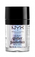 NYX Professional Makeup - Metallic Glitter Paillettes - Glitter for face and body - 05 LUMI-LITE - 05 LUMI-LITE