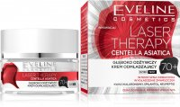 EVELINE - LASER THERAPY - CENTELLA ASIATICA - Deeply nourishing rejuvenating cream - 70+