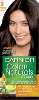 GARNIER - COLOR NATURALS Creme - Permanent, nourishing hair coloring - 3 Dark Brown