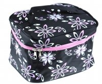 Inter-Vion - Makeup Bag - BLACK/FLORAL PATTERN - 499335 A