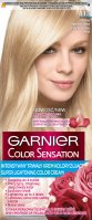 GARNIER - COLOR SENSATION - Permanent hair coloring cream - 113 Silky Beige Ultra Blonde