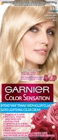 GARNIER - COLOR SENSATION - Permanent hair coloring cream - 110 Diamond Ultra Blonde